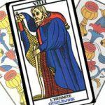 Сочетание Отшельника с Кубками в гадании на любовь