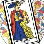 Сочетание Силы с Кубками в гадании на любовь