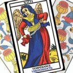 Сочетание Умеренности с Кубками в гадании на любовь