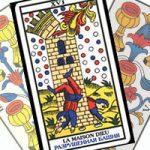 Сочетание Башни с Кубками в гадании на любовь