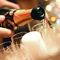 Толкование снов с шампанским