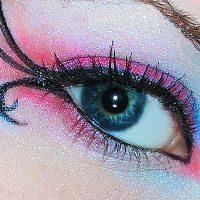Изменяем цвет глаз визуализацией