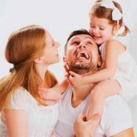 Подарок небес - счастливая семья